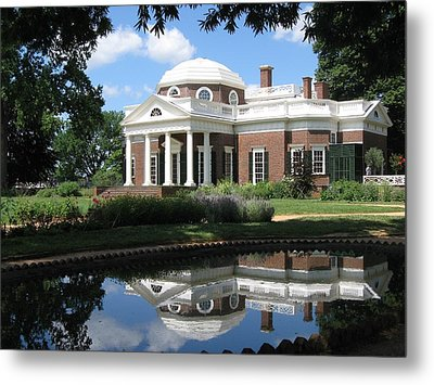 Metal Print featuring the photograph Monticello by Doug McPherson