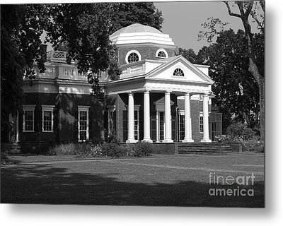 Metal Print featuring the photograph Monticello IIi by Eric Liller