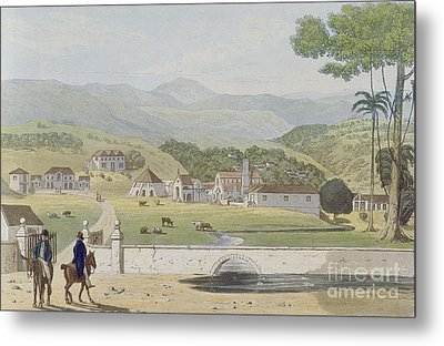 Montpelier Estates - St James Metal Print by James Hakewill