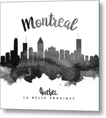 Montreal Quebec Skyline 18 Metal Print