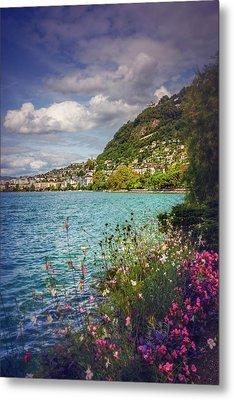 Montreux Lake Geneva  Metal Print