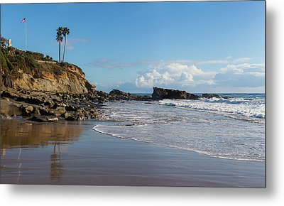 Metal Print featuring the photograph Monument Point At Low Tide by Cliff Wassmann