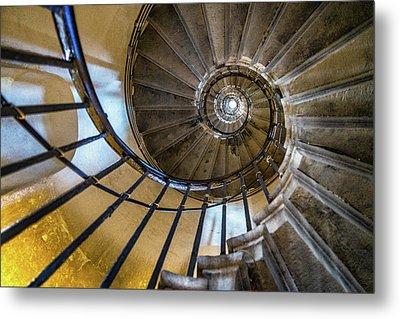 Monument Stairs Metal Print by Jae Mishra