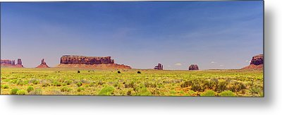Monument Valley South View Metal Print