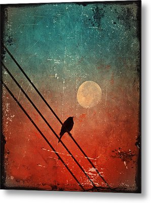 Moon Talk Metal Print
