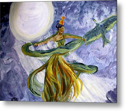 Moonlight Majesty Metal Print