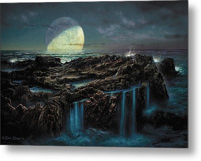 Moonrise 4 Billion Bce Metal Print