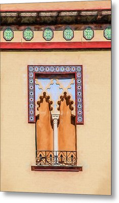 Moorish Window Metal Print