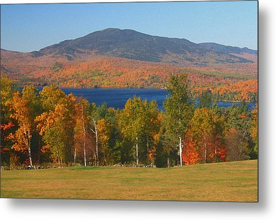 Moosehead Lake In Autumn Metal Print