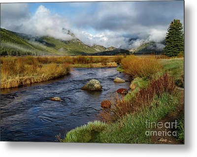 Moraine Park Morning - Rocky Mountain National Park, Colorado Metal Print