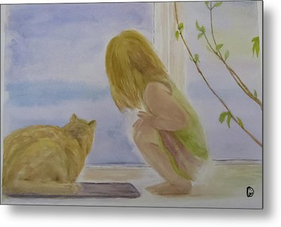 Morning Discover Metal Print by Annie Poitras