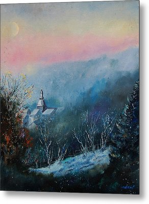 Morning Frost Metal Print by Pol Ledent