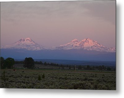 Morning In Central Oregon Metal Print