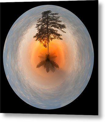 Morning Light Fantasy Metal Print