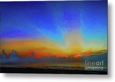 Morning Rays Metal Print by Dave Bosse