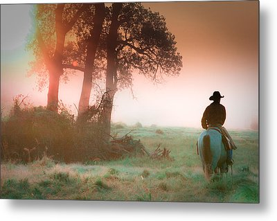 Morning Solitude Metal Print