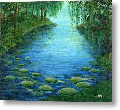 Mossy Cove Metal Print by Diana Lehr