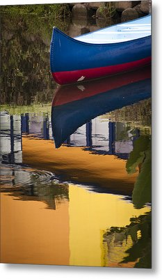Metal Print featuring the photograph Mostly Primary by Kevin Bergen
