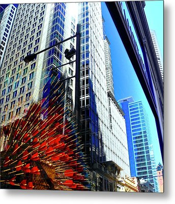 Mostly Reflections In Sydney Metal Print by Kirsten Giving