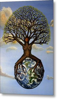 Mother Nature  Mother Earth Metal Print by Shawna Dockery