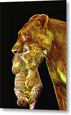 Motherly Love Metal Print by Michael Durst
