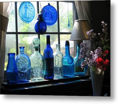 Mother's Day Window Metal Print