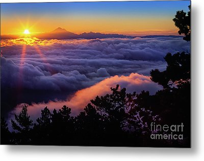 Mount Constitution Sunrise Metal Print
