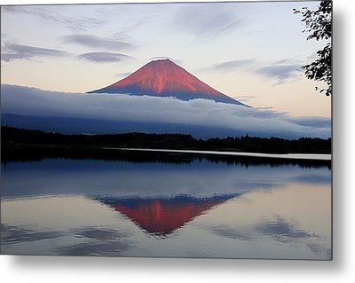 Mount Fuji Metal Print by Japan from my eyes