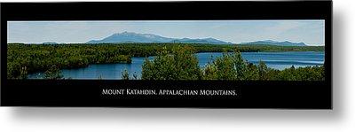 Mount Katahdin Metal Print