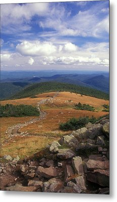 Mount Moosilauke Summit Metal Print