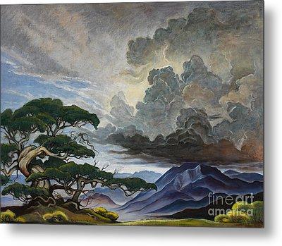 Mount Nebo Metal Print