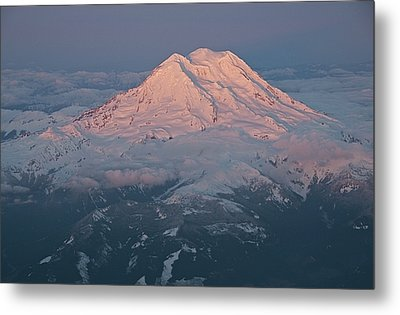 Mount Rainier, Wa Metal Print by Professional geographer who loves to capture landscapes