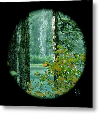Mountain Lake Metal Print by Shirley Heyn