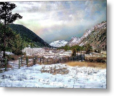 Mountain Meadow Metal Print by Jim Hill