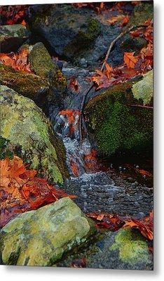 Mountain Spring On The At Metal Print by Raymond Salani III