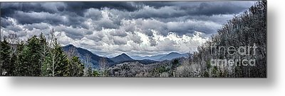 Metal Print featuring the photograph Mountains 1 by Walt Foegelle