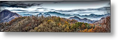 Metal Print featuring the photograph Mountains 2 by Walt Foegelle