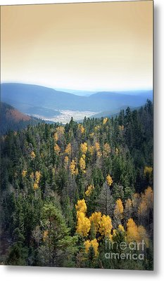 Metal Print featuring the photograph Mountains And Valley by Jill Battaglia