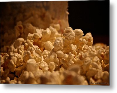 Movie Night Metal Print by Susan Herber