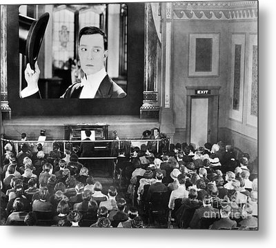 Movie Theater, 1920s Metal Print by Granger