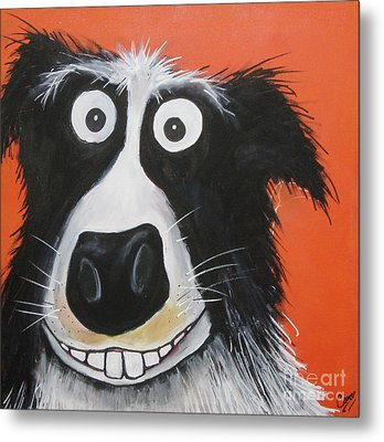 Mr Dog Metal Print