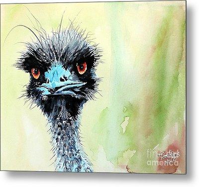Mr. Grumpy Metal Print by Tom Riggs