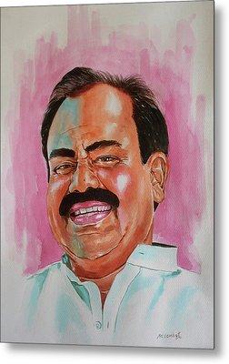 Mr. Madhusudhana Chari Metal Print