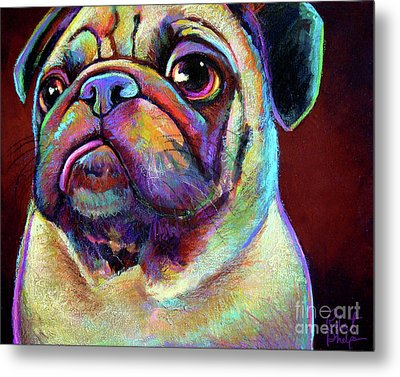 Mr. Pugnacious  Metal Print