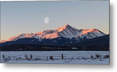 Metal Print featuring the photograph Mt. Elbert Sunrise by Aaron Spong