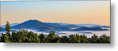 Mt. Jefferson Cloud Lake Metal Print