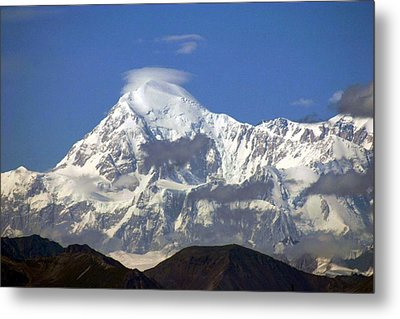 Metal Print featuring the photograph Mt. Mckinley Circling Wind by Jack G  Brauer