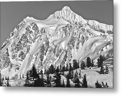Mt Shuksan Metal Print by Tony Locke