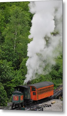 Mt Washington Cog Railroad Metal Print