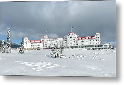 Mt. Washington Hotel Metal Print by Joseph Smith